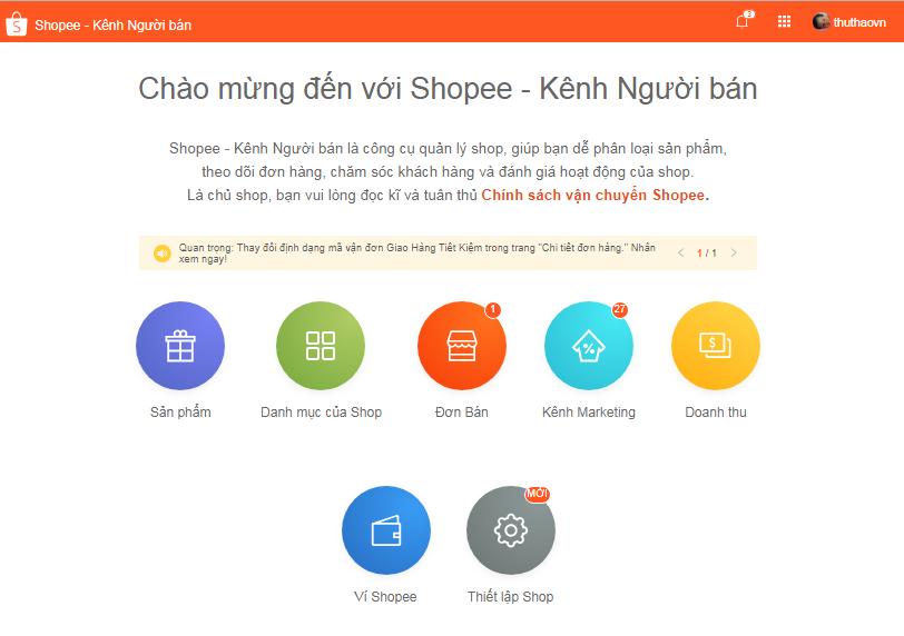 huong dan ban hang shopee4 Ninja hướng dẫn bán hàng trên Shopee.vn