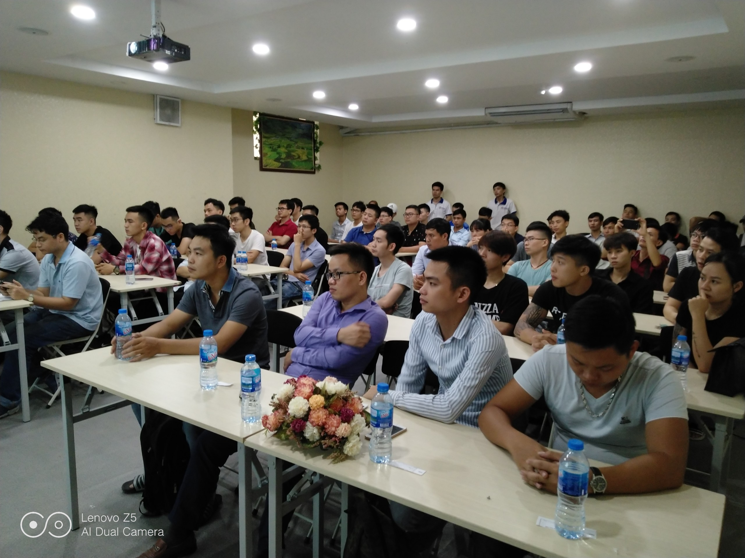 dao tao ninja system3 Tổng kết offline đào tạo Ninja System   phần mềm nuôi nick điện thoại số 1 Việt Nam