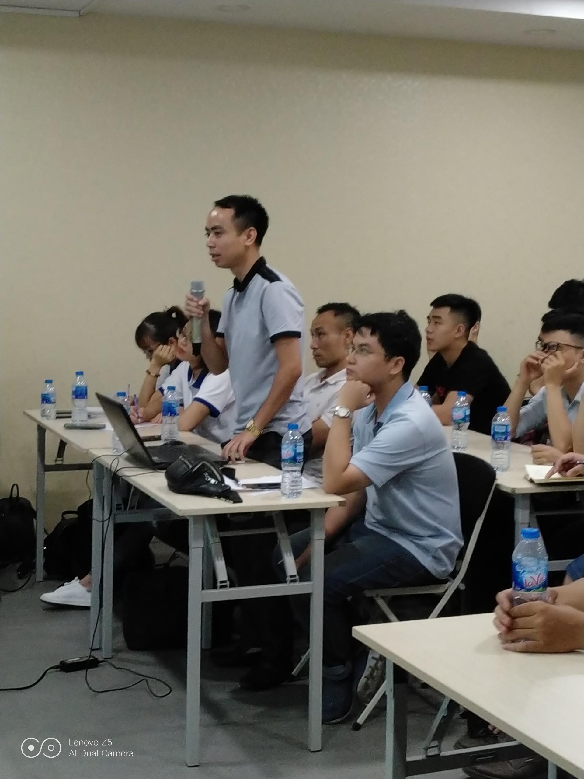 dao tao ninja system8 Tổng kết offline đào tạo Ninja System   phần mềm nuôi nick điện thoại số 1 Việt Nam