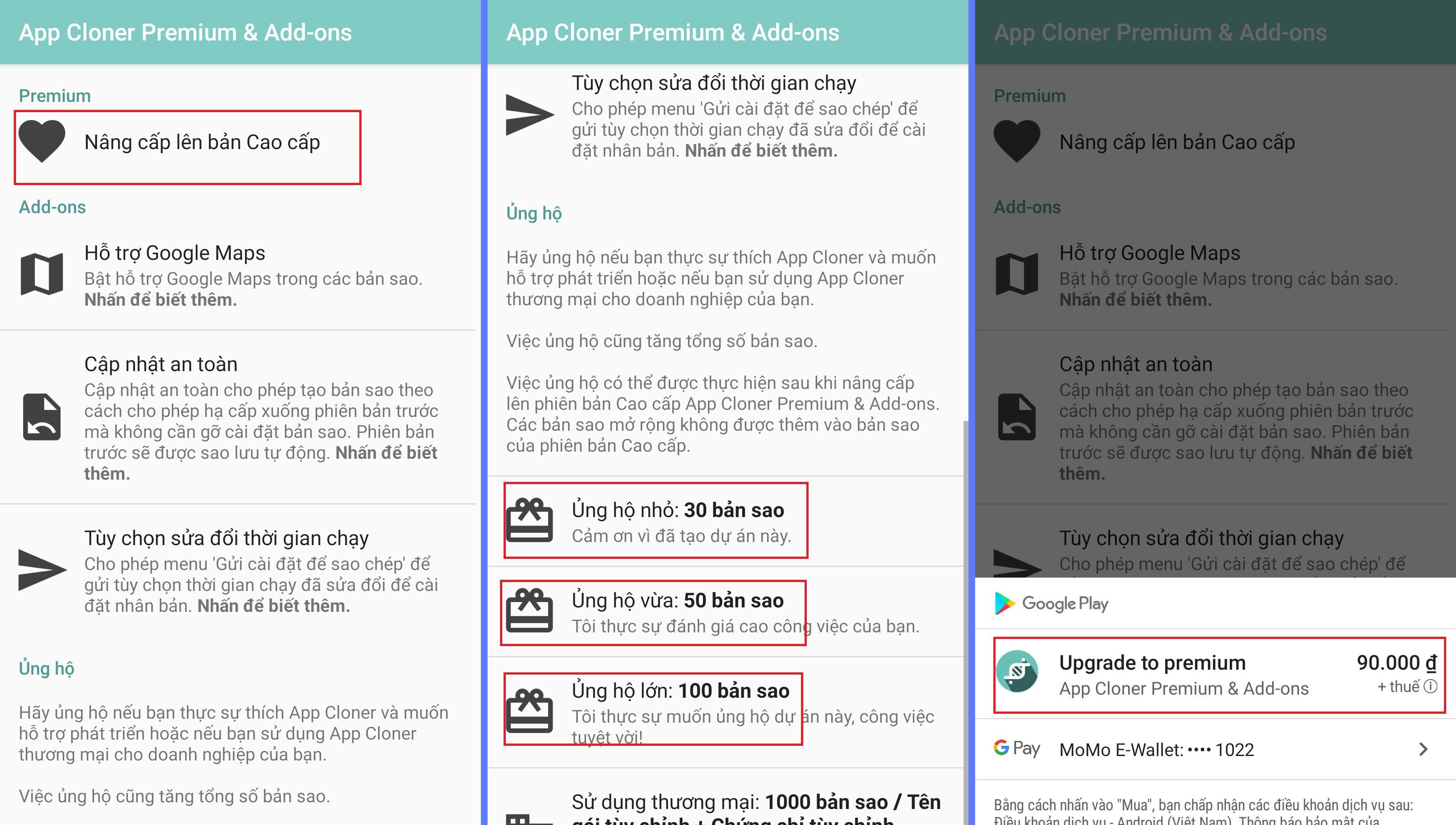 nuoi nick dien thoai ninja system3 Cách nhân bản app cloner Facebook để nuôi nick điện thoại bằng Ninja System