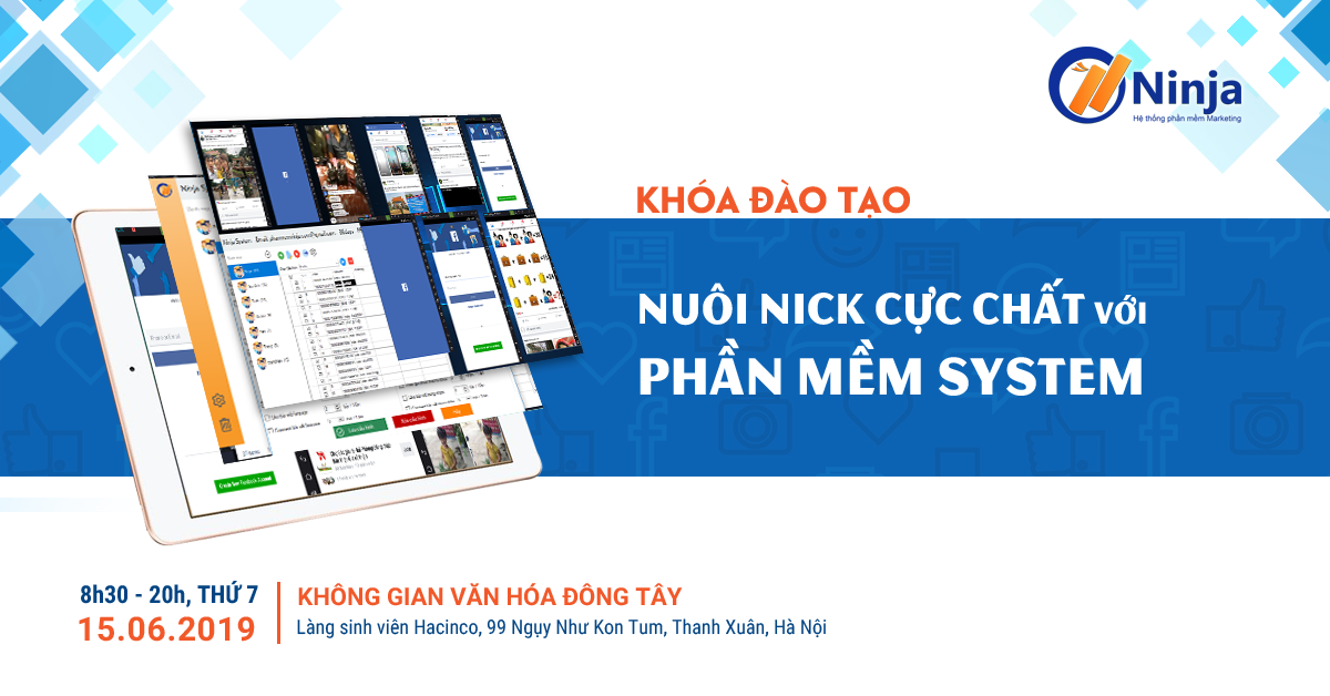 offline ninja system Khóa đào tạo Offline nuôi nick điện thoại cực chất với Ninja System