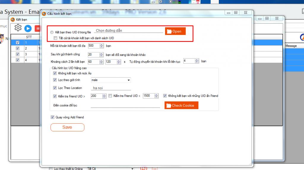 update ninja system v26.2 1 Update phần mềm nuôi nick điện thoại Ninja System V2.6 nhiều tính năng
