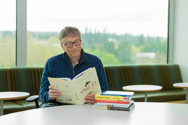 Bill Gates. Bí quyết giúp tỷ phú yêu sách Bill Gates ghi nhớ những gì ông đã đọc