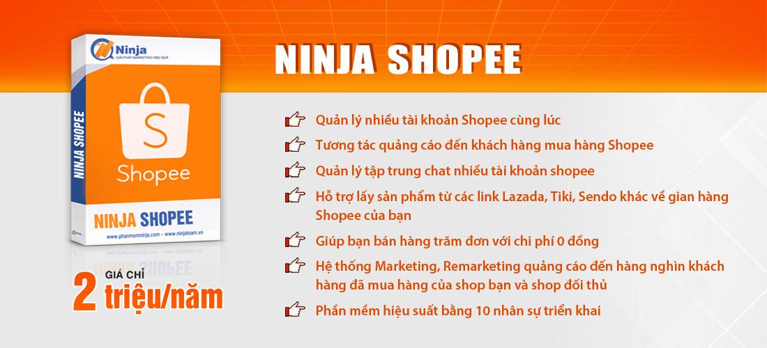 ninja shopee 4 cách bán hàng hiệu quả nhất trên Shopee
