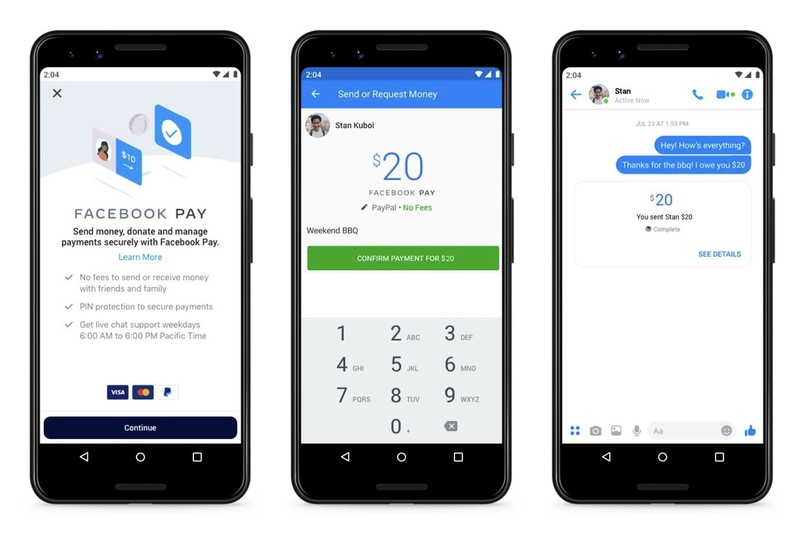 facebook pay Facebook ra mắt Facebook Pay, cho thanh toán trên một số ứng dụng