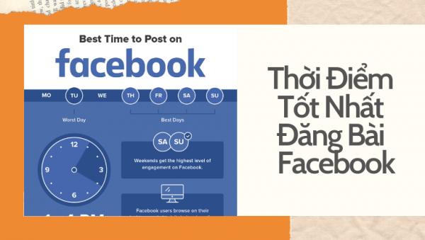 gio vang dang bai tren facebook 600x339 Giờ vàng đăng bài trên Facebook, youtube, Instagram