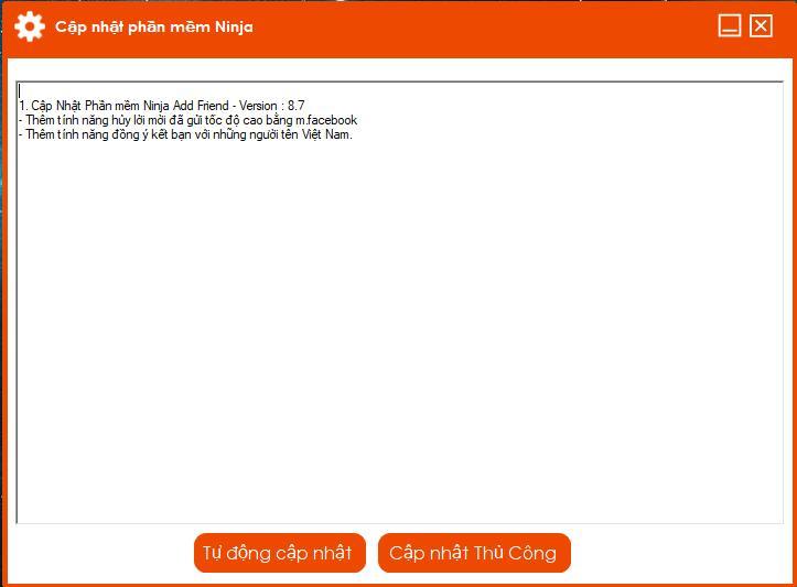 88aeac09e0131b4d4202 Ninja Add Friend update Version 8.7 với nhiều tiện ích mới
