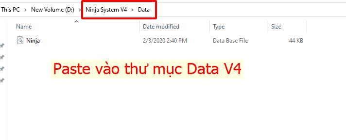 chuyen data1 Bỏ túi 7 mẹo giúp bạn sử dụng phần mềm nuôi nick Ninja System V4