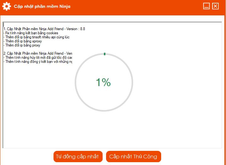 addfriend 8.8 Update version mới 8.8 của phần mềm kết bạn Facebook Ninja Add Friend
