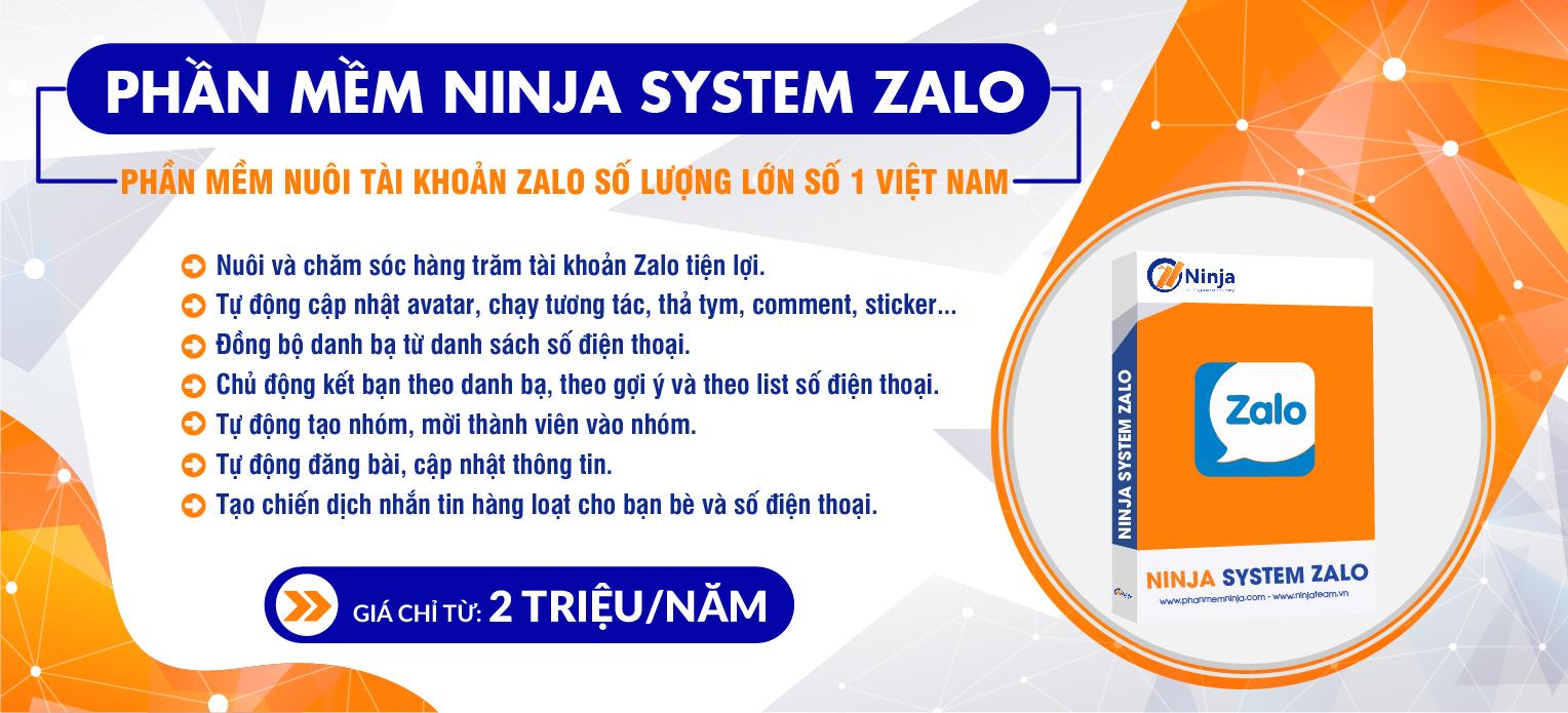 Ninja system zalo