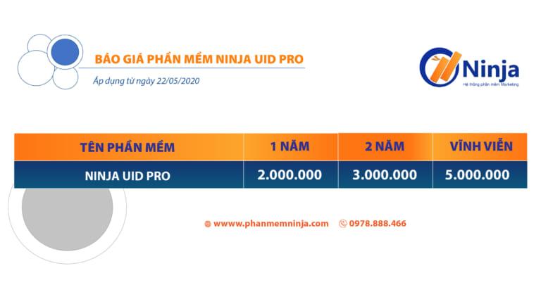báo giá phần mềm UID PRO