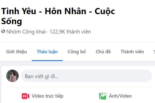 cách livestream trên group facebook